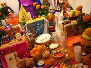"""Altar en el """"Día de Muertos"""" en México"""