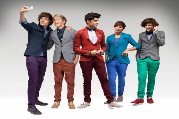 """Los cinco chicos del grupo """"One Direction"""""""
