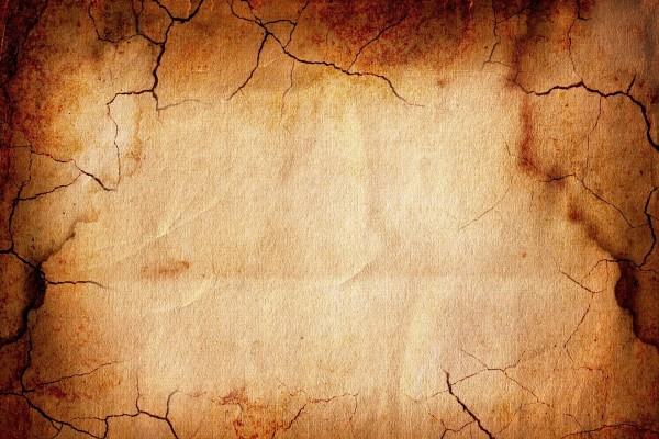 Un pergamino antiguo