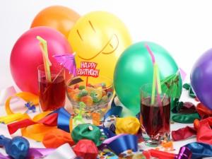 Postal: Fiesta de cumpleaños