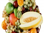 Surtido de frutas frescas