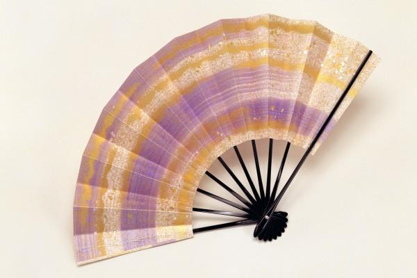 Un hermoso abanico japonés