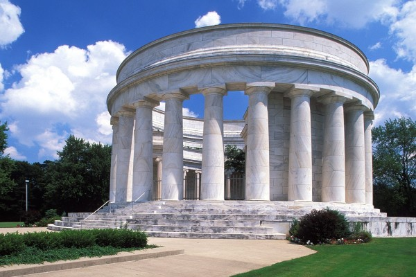 The Harding Tomb (Memorial al Presidente norteamericano Warren G. Harding) Marion, Ohio