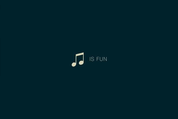 La música es divertida