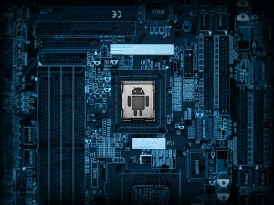 Postal: Android controlando el sistema