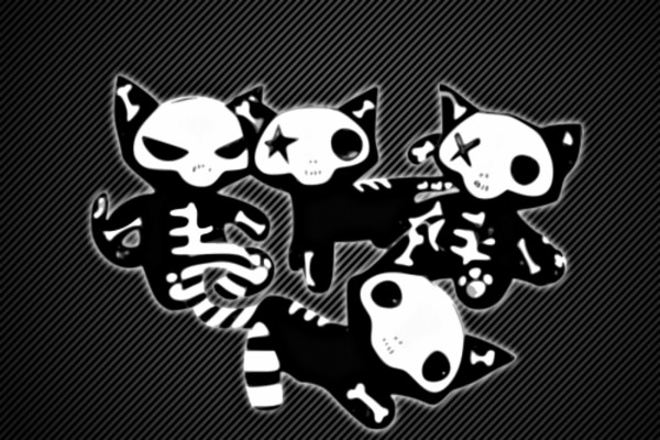 Gatitos para Halloween