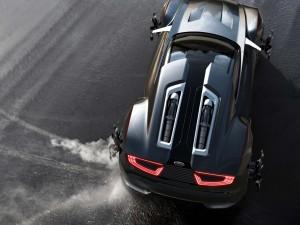 Un coche deportivo Ford