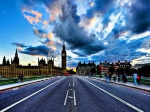 Amanece en Londres