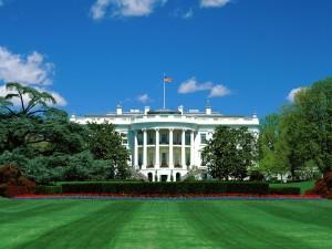Postal: Jardines de la Casa Blanca (Washington D.C.)