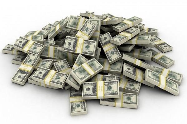 Montaña de dólares