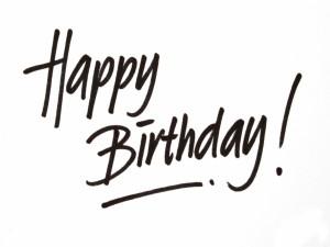 Postal: Mensaje de ¡Feliz Cumpleaños!