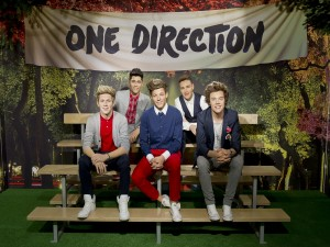 "Estatuas de los chicos de ""One Direction"""