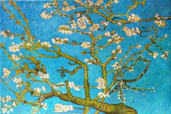 """Pintura """"Almendro en flor"""" de Vincent van Gogh"""