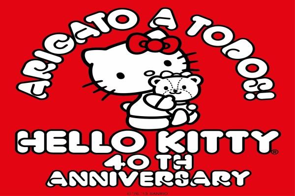 """Hello Kitty """"40 Aniversario"""""""