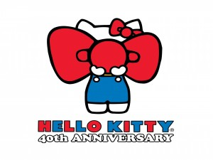 "Postal: 40 Aniversario de ""Hello Kitty"""