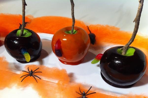 """Manzanas de caramelo para """"Halloween"""""""