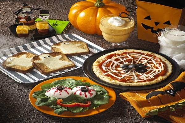 Una divertida cena de Halloween