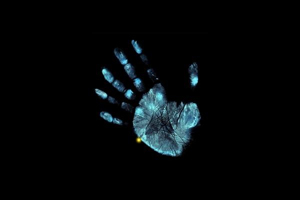 Huella dactilar de una mano