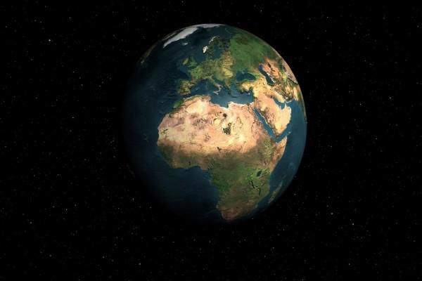 África y Europa vistos desde el espacio