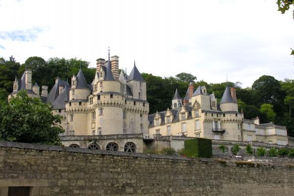 El gran castillo de Ussé (Francia)