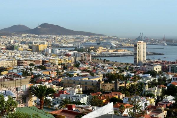 Vista de Las Palmas (Gran Canaria)