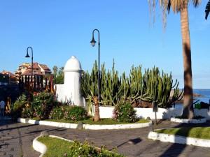 Postal: Paseo por el Puerto de la Cruz (Tenerife, Islas Canarias)