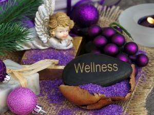 Deseo de bienestar (wellness) para Navidad