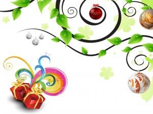 Adornos para una alegre Navidad