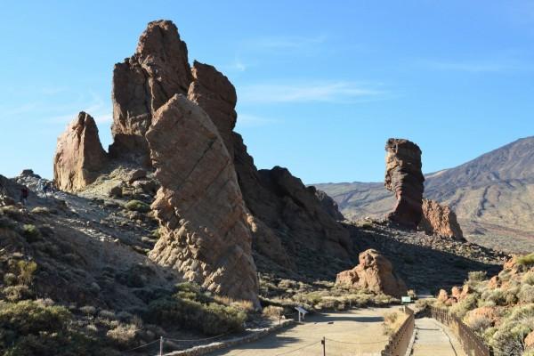 Roques de García, Parque Nacional del Teide (Tenerife, Islas Canarias)