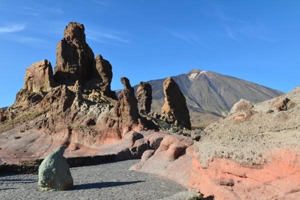 Roques de García y el Teide (Tenerife, Islas Canarias)