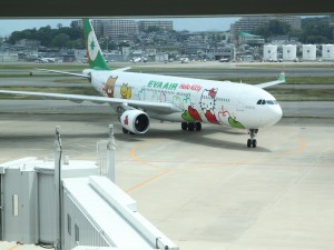 Avión EVA air Hello Kitty
