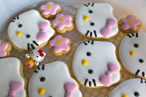 Ricas galletas de Hello Kitty