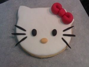 Galleta de Hello Kitty