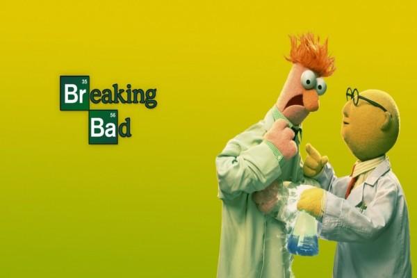 """Divertida imagen de la serie """"Breaking Bad"""""""