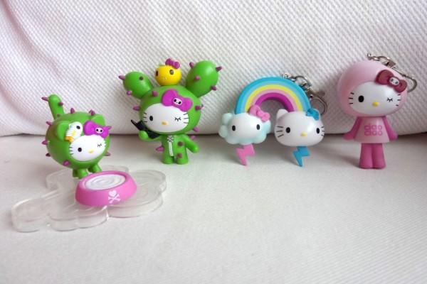 Divertidas muñequitas de Hello Kitty