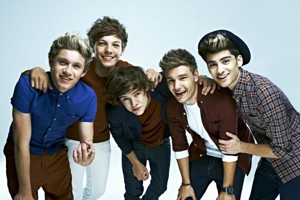 """Los jóvenes integrantes del grupo """"One Direction"""""""