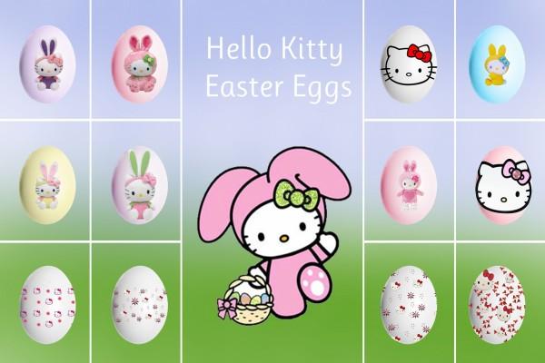 Hello Kitty en Pascua