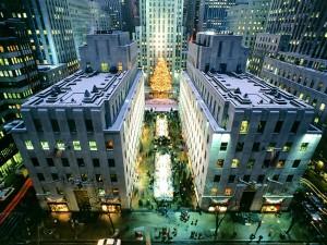 Navidad en Rockefeller Center (Manhattan, Nueva York)