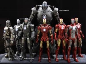 """Los trajes de""""Iron Man"""""""