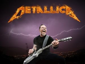 James Hetfield, el famoso guitarrista de Metallica