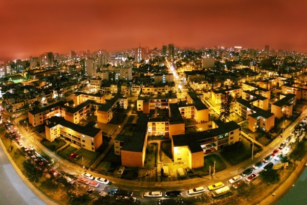 Vista panorámica del distrito de Lince (Lima, Perú)