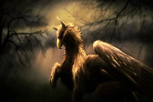 Gran ser con cabeza de águila