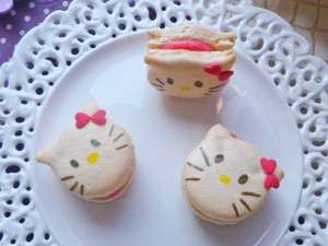 Macarons de Hello Kitty
