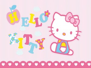 "Bonitas letras ""Hello Kitty"""