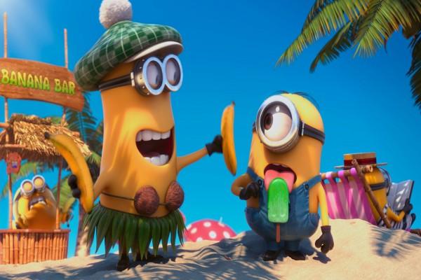 """Minions en la playa """"Mi Villano Favorito 2 """""""