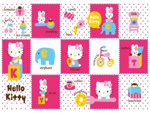 Aprendiendo con Hello Kitty