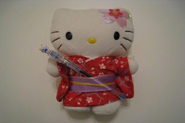 Muñeca Hello Kitty con kimono