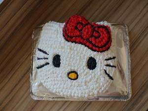Tarta de Hellow Kitty