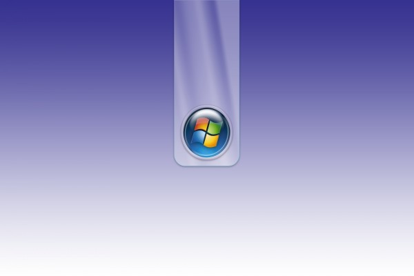 Logo de Windows en un fondo púrpura
