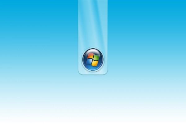 Logo de Windows en un fondo azul claro